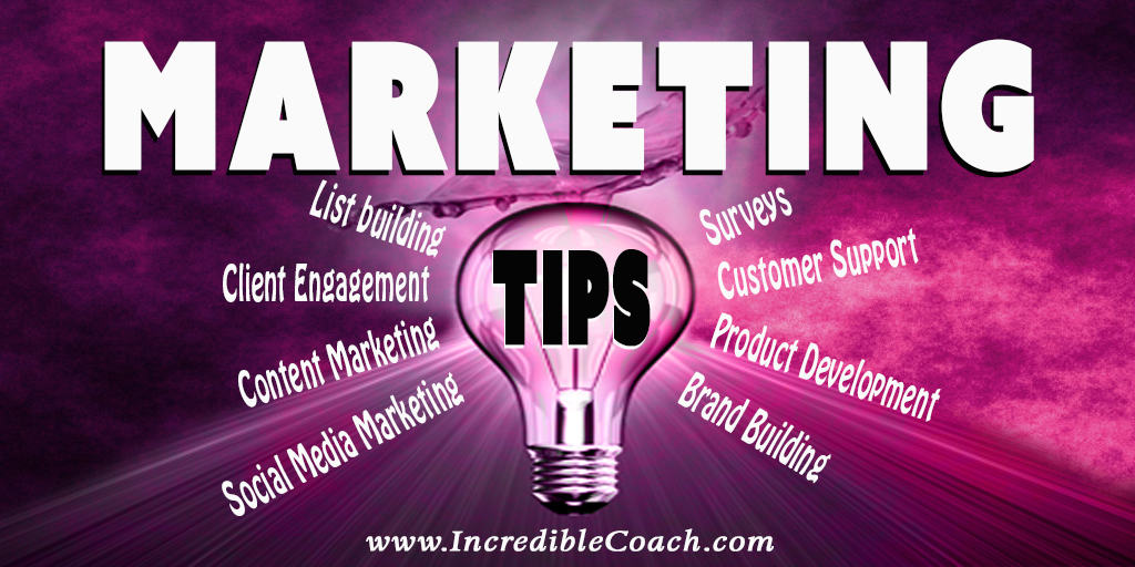 marketing tips for coaches and consultants