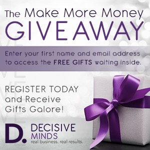 Make More Money Giveaway